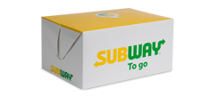 Subway to Go Box
